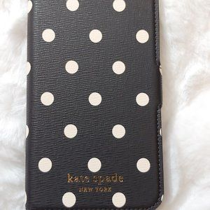 NWT Kate Spade cabana dot iphone XS magnetic case